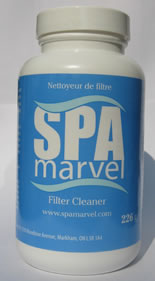 Spa Marvel Hot Tub and Spa Filter Cleanser