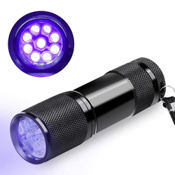 UV LED Flashlight - Black Light - Pet Urine and Stains Detector
