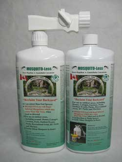MOSQUITO-Less Twin Pack - One with Hose End Sprayer