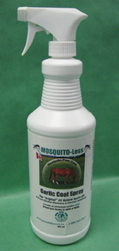 MOSQUITO-Less - 900ML - Garlic Coat Spray for Horses