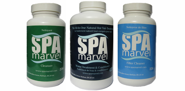 Spa Marvel All-In-One Natural Hot Tub Treatment