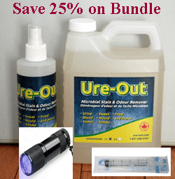 URE-OUT - 1 Liter Concentrate - Startup Bundle